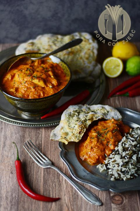 Pora coś zjeść - apetyczny blog kulinarny. Proste przepisy i piękne zdjęcia.: Indyjskie curry kurczak w maśle (Butter chicken curry)