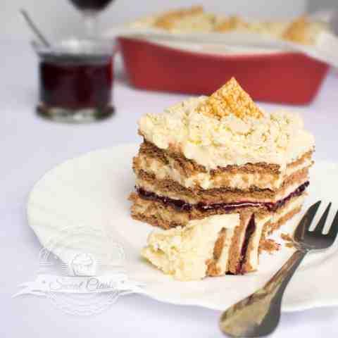 Ciasto chałwowe bez pieczenia           |            Świat Ciasta