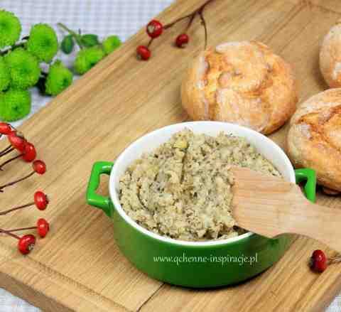 Roślinny smalczyk! Pełen białka, żelaza, potasu i wapnia! Doskonały nie tylko dla wegetarian i wegan! | Qchenne Inspiracje