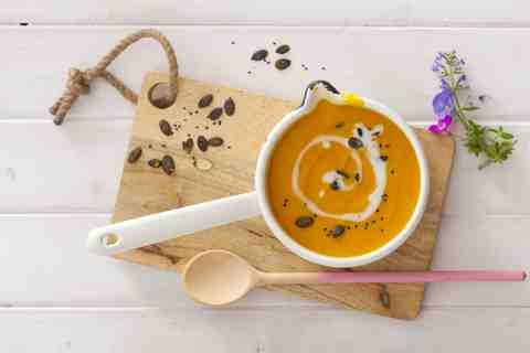 Zupa z dyni na mleku kokosowym II - Lawendowy DomLawendowy Dom